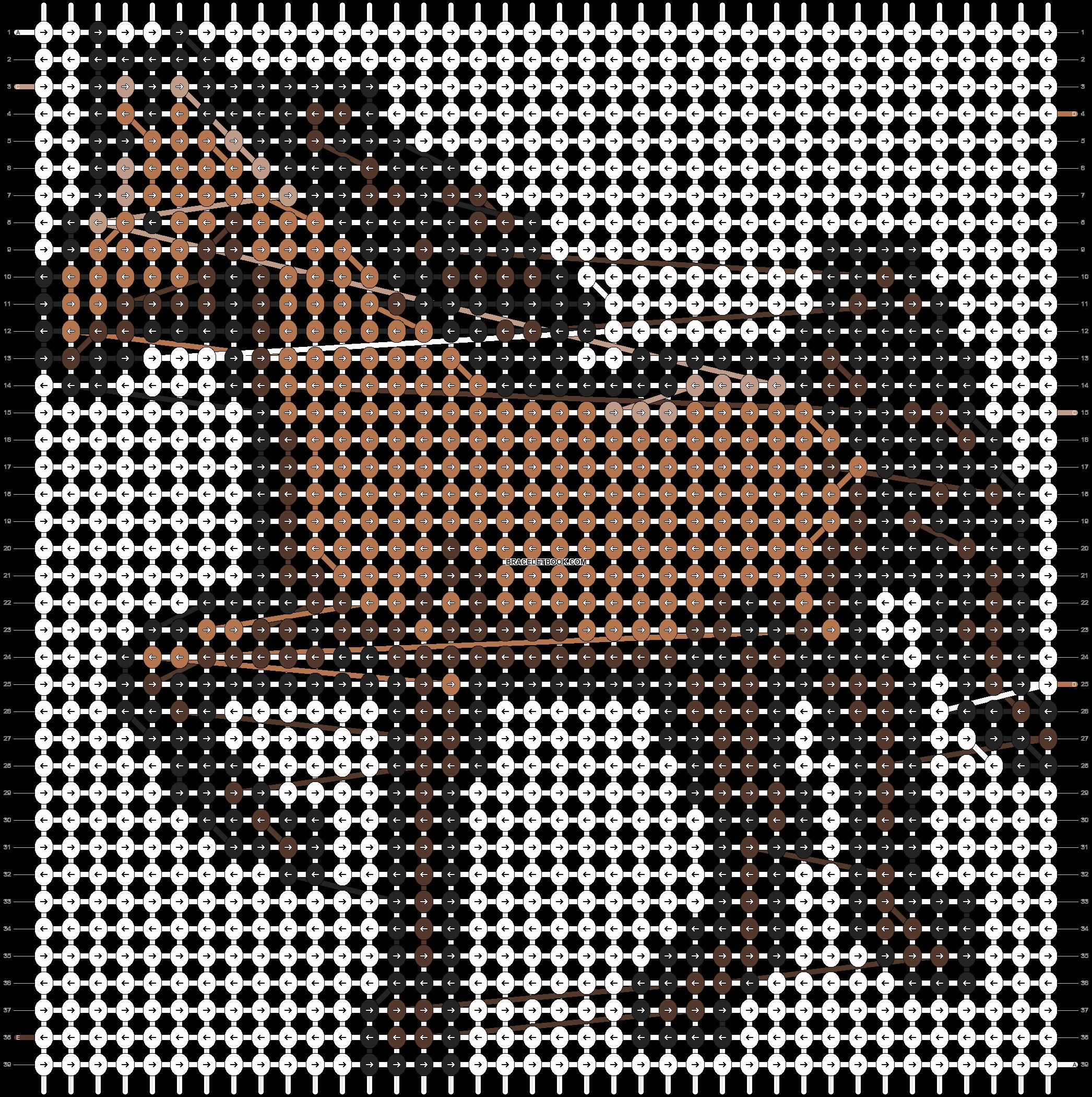 Alpha pattern #3361 pattern