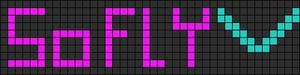 Alpha Friendship Bracelet Pattern #3365