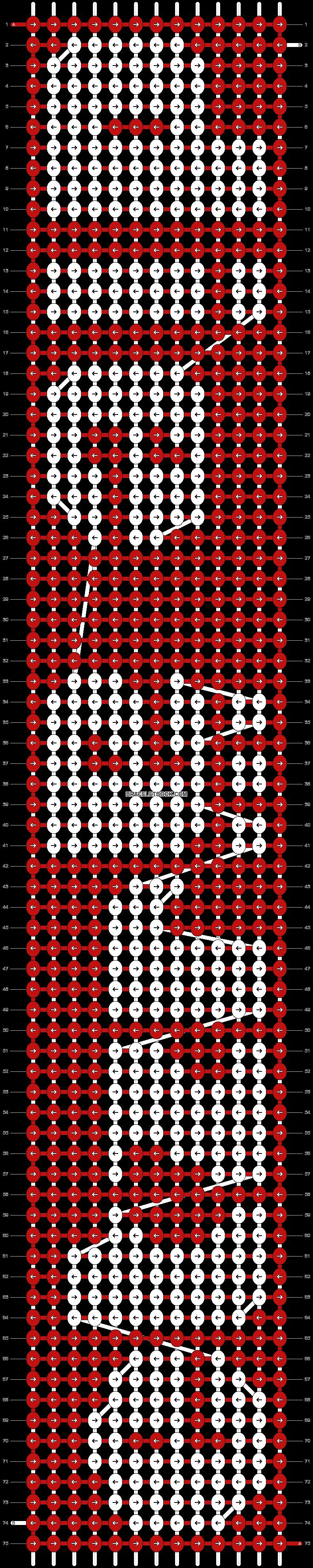 Alpha pattern #3370 pattern