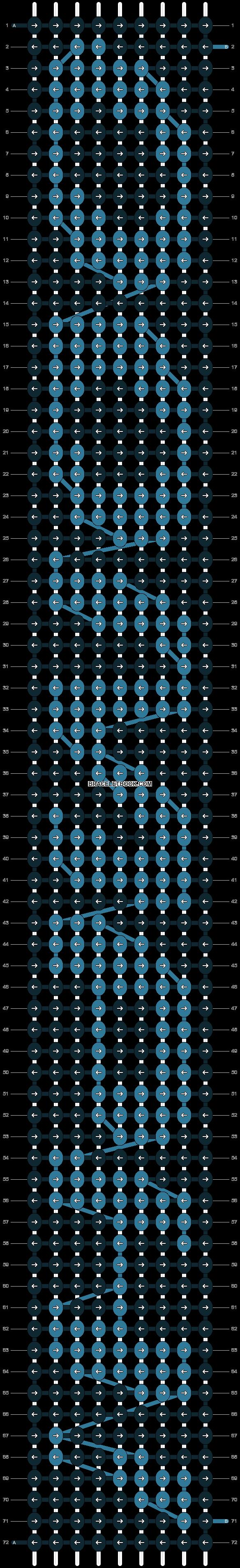 Alpha pattern #3371 pattern