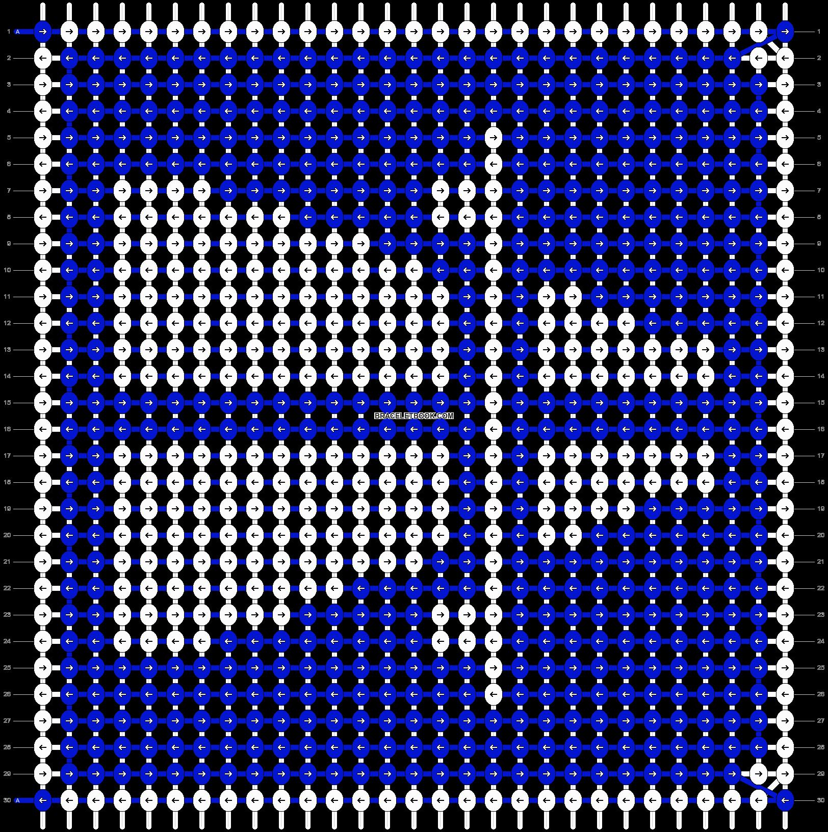 Alpha pattern #3372 pattern