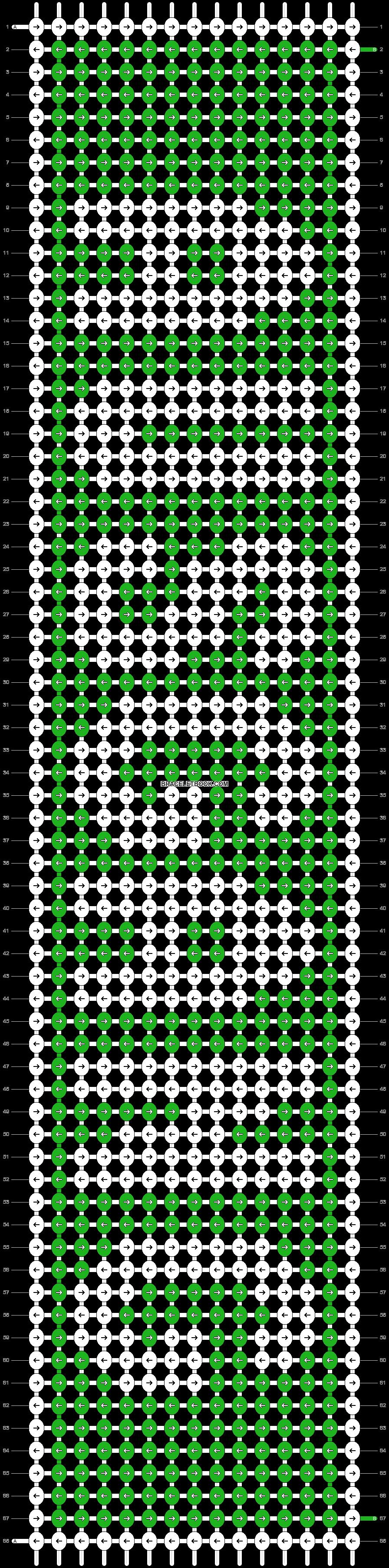 Alpha pattern #3373 pattern