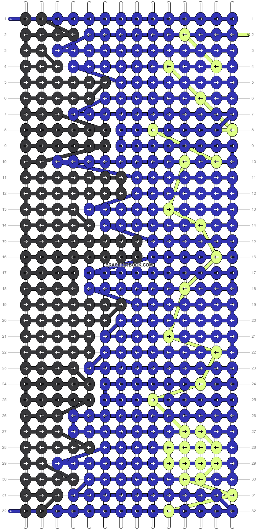 Alpha pattern #3378 pattern