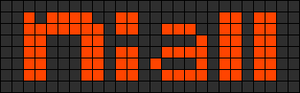 Alpha pattern #3382
