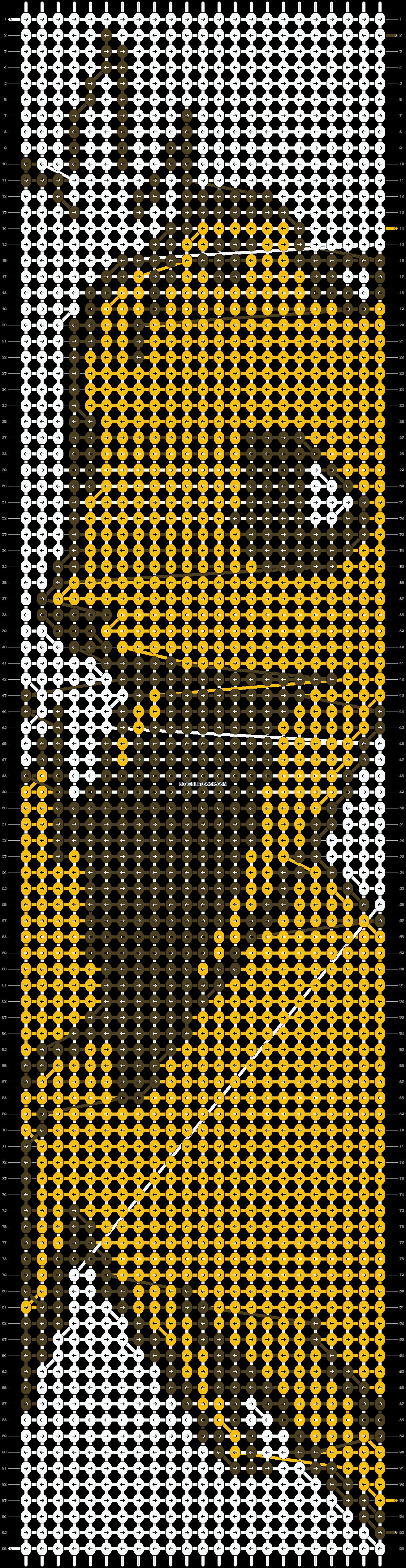 Alpha pattern #3386 pattern