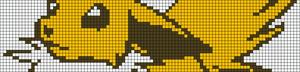 Alpha Friendship Bracelet Pattern #3386