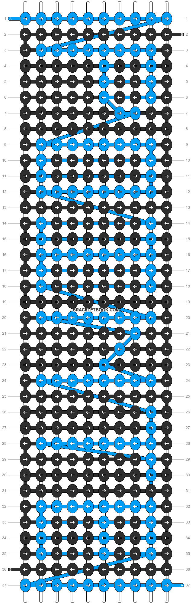 Alpha pattern #3387 pattern