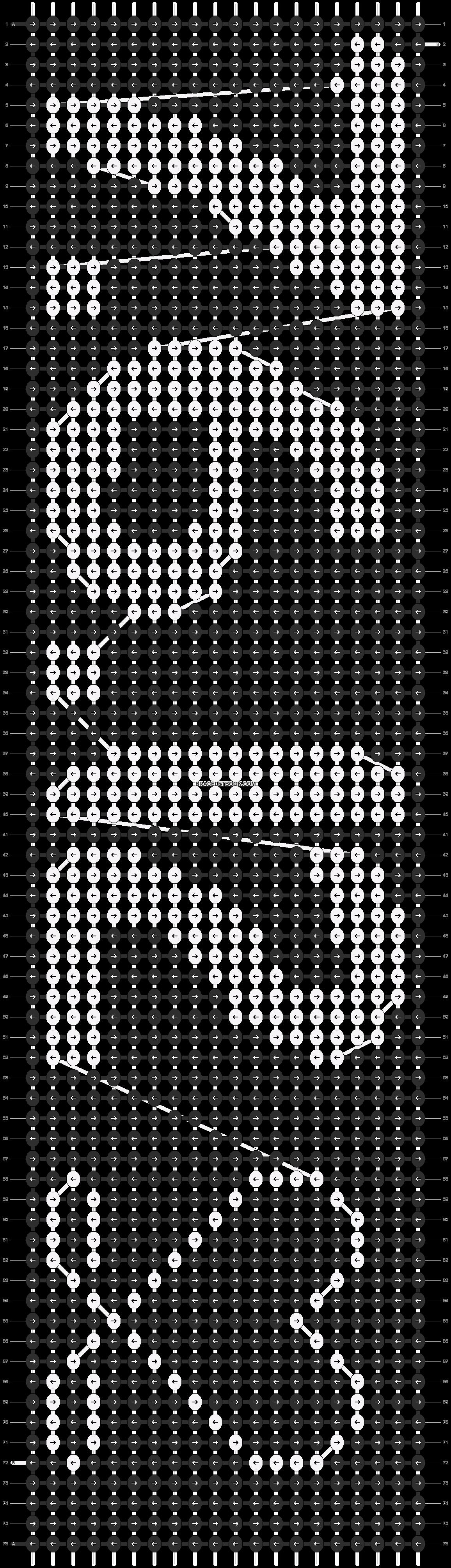 Alpha pattern #3408 pattern