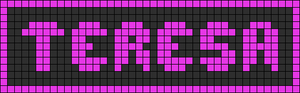Alpha pattern #3419