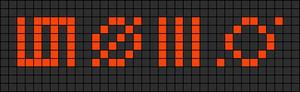 Alpha pattern #3422