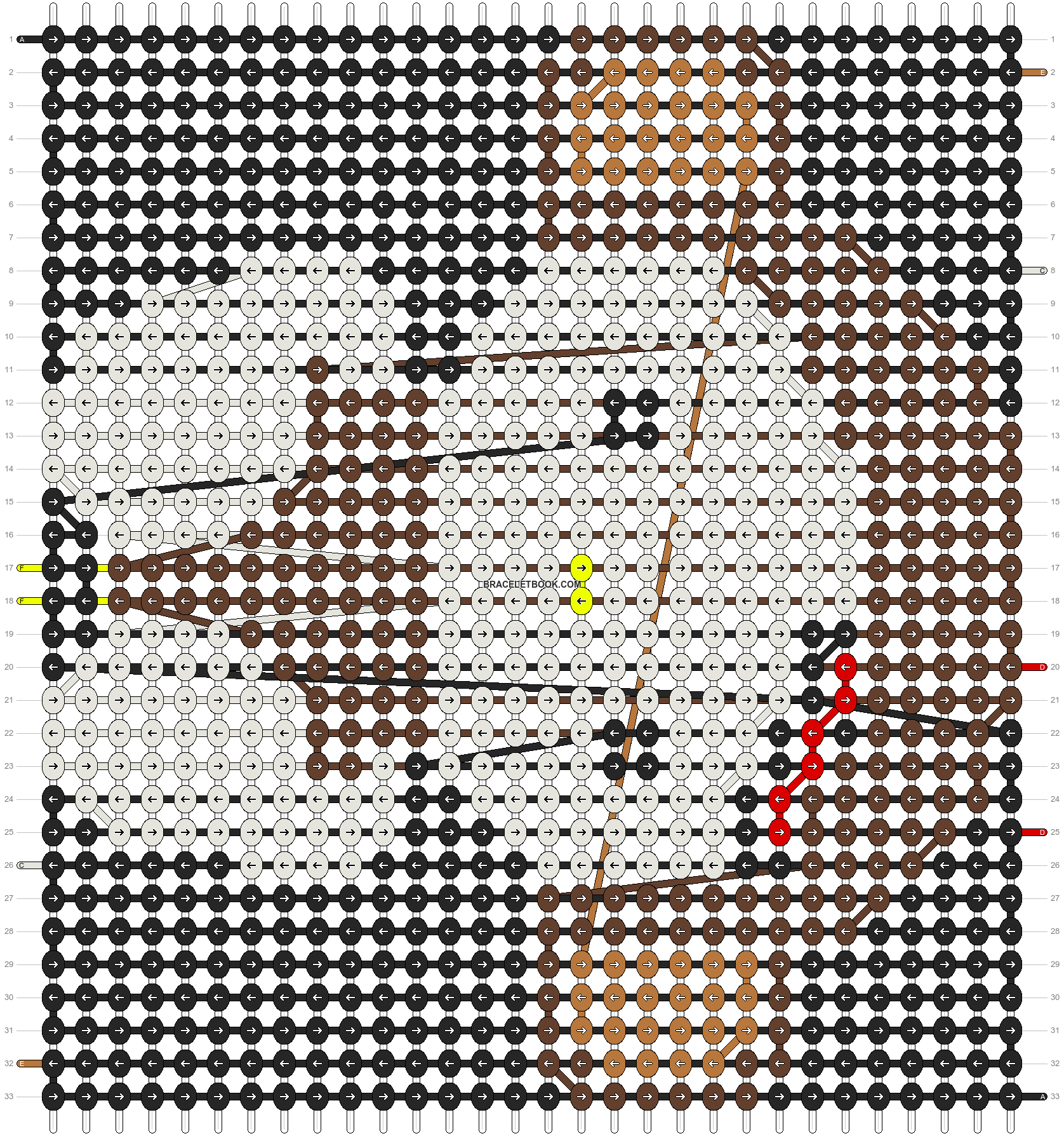 Alpha pattern #3425 pattern