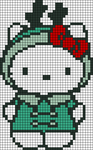 Alpha Friendship Bracelet Pattern #3435