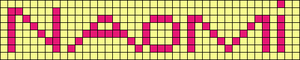 Alpha pattern #3450