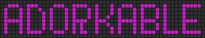 Alpha pattern #3452
