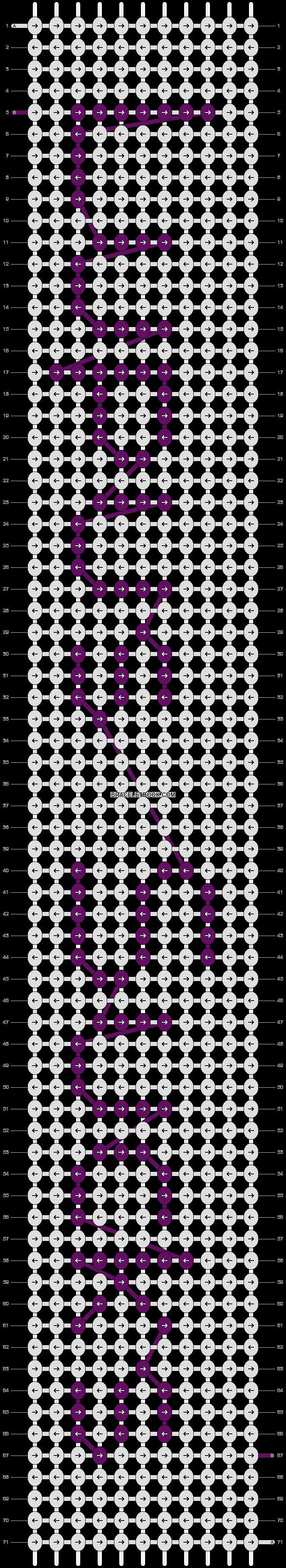 Alpha pattern #3454 pattern