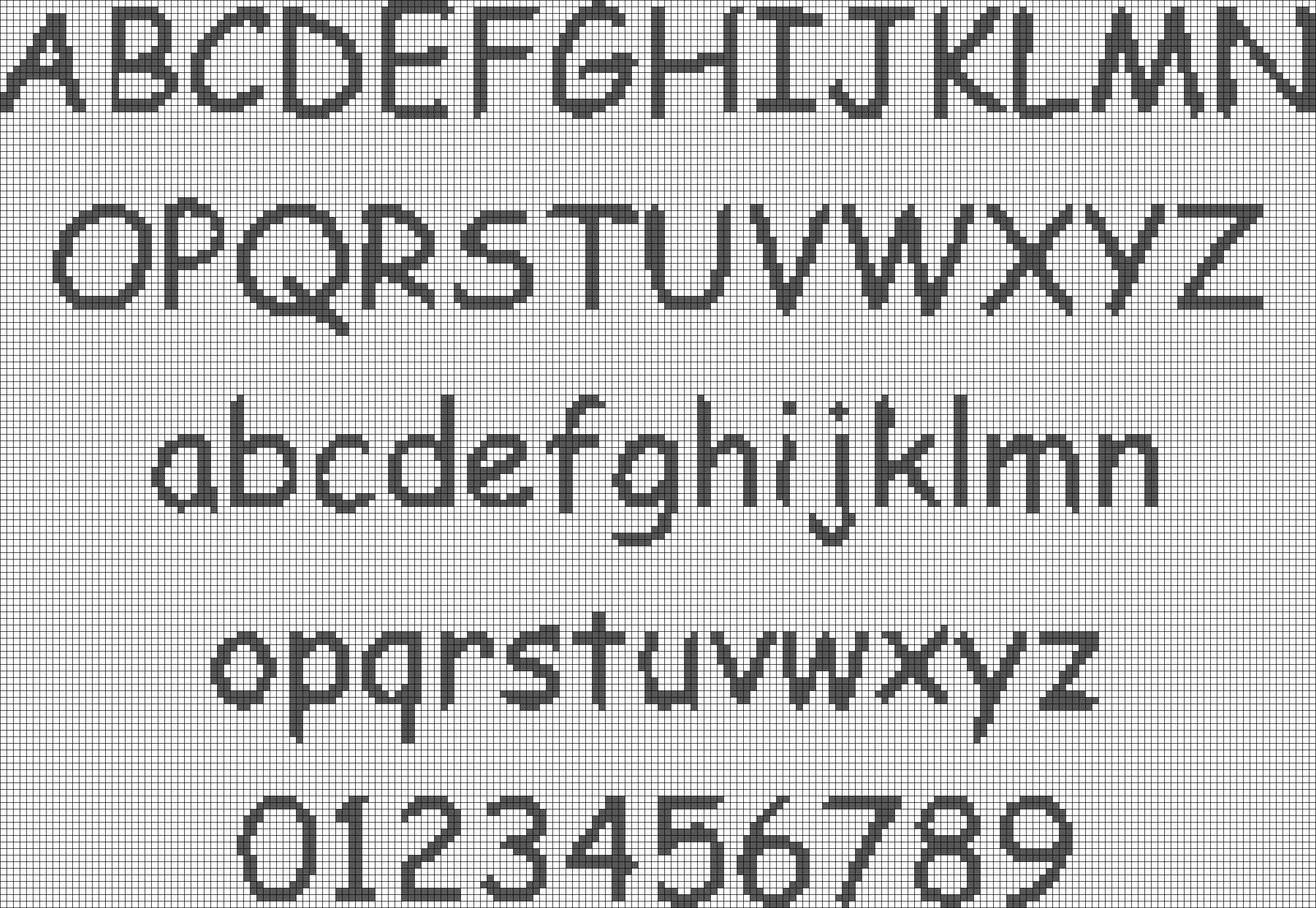 Alpha pattern #3459 preview