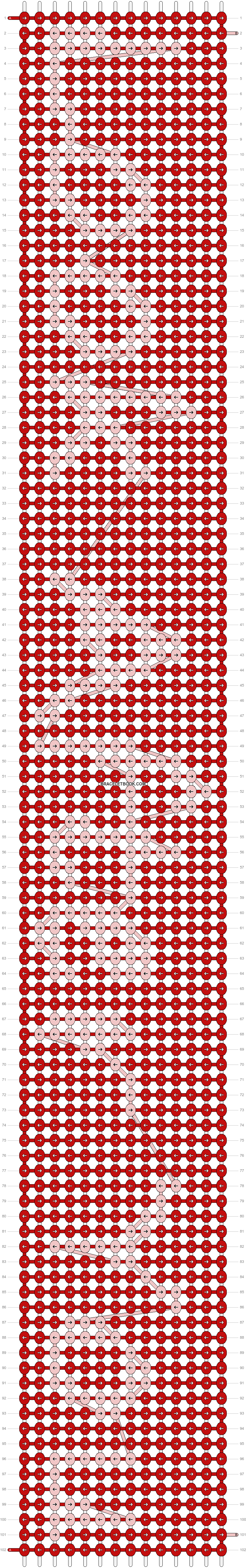 Alpha pattern #3467 pattern