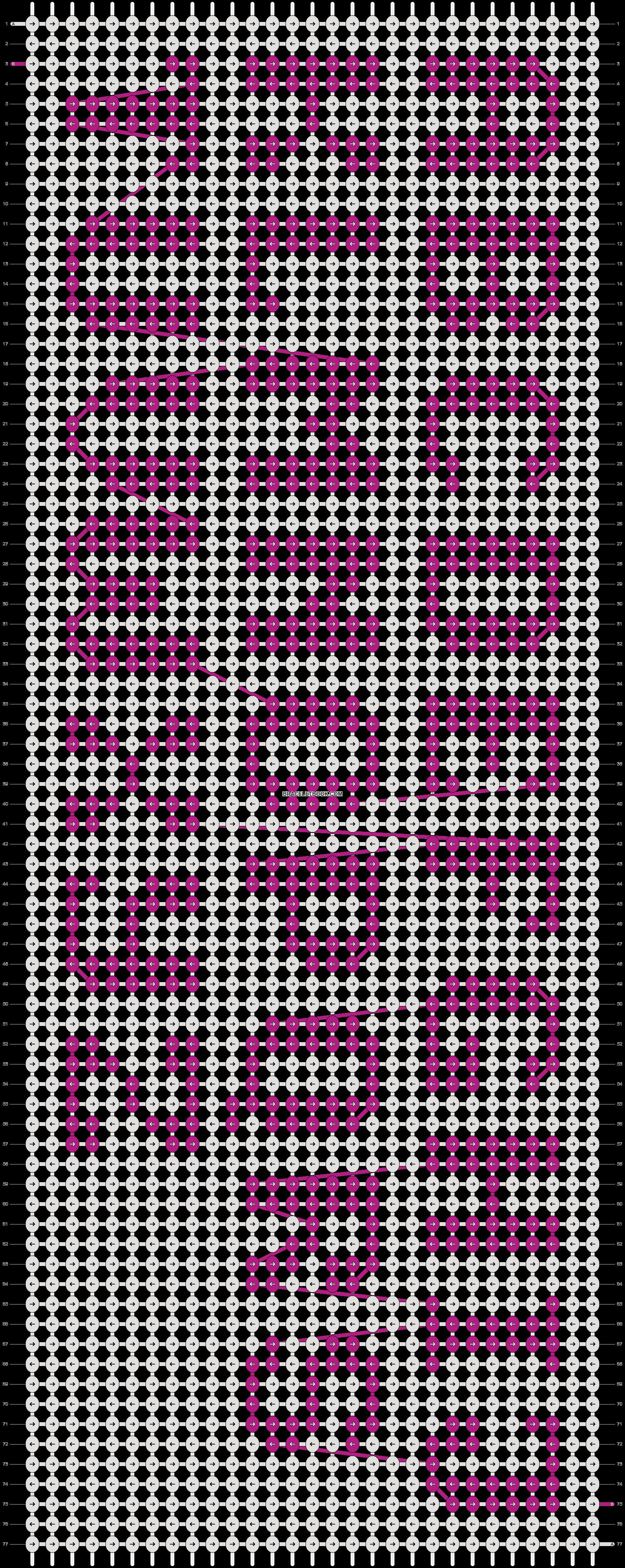 Pattern Written Friendship Bracelet Patterns