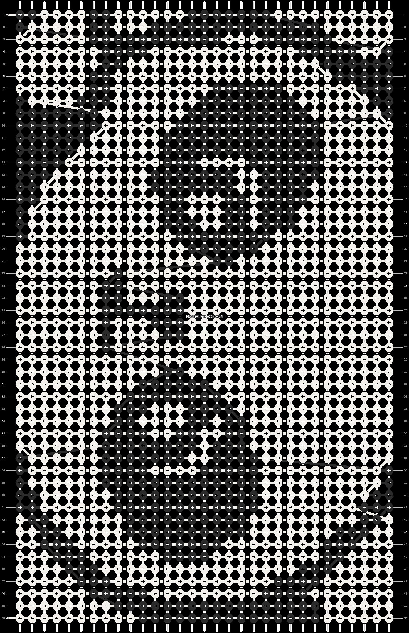 Alpha pattern #3470 pattern