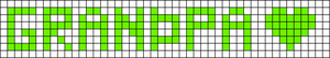 Alpha pattern #3474