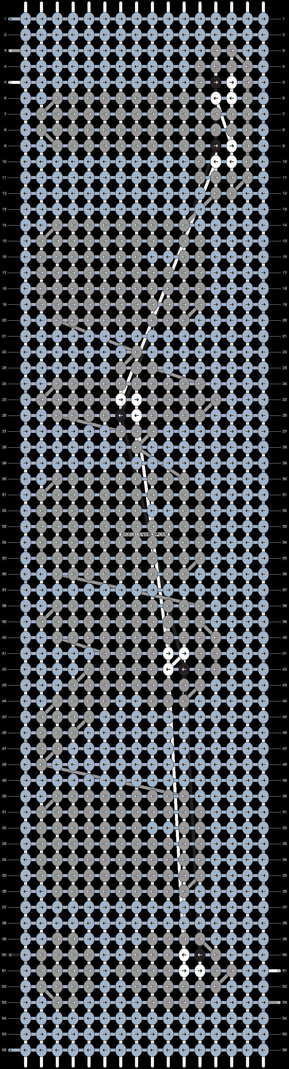 Alpha pattern #3486 pattern
