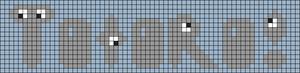 Alpha Friendship Bracelet Pattern #3486