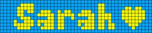 Alpha pattern #3488