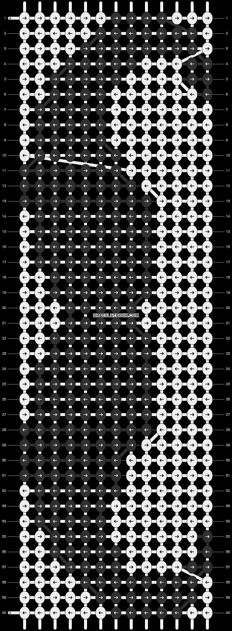 Alpha pattern #3506 pattern