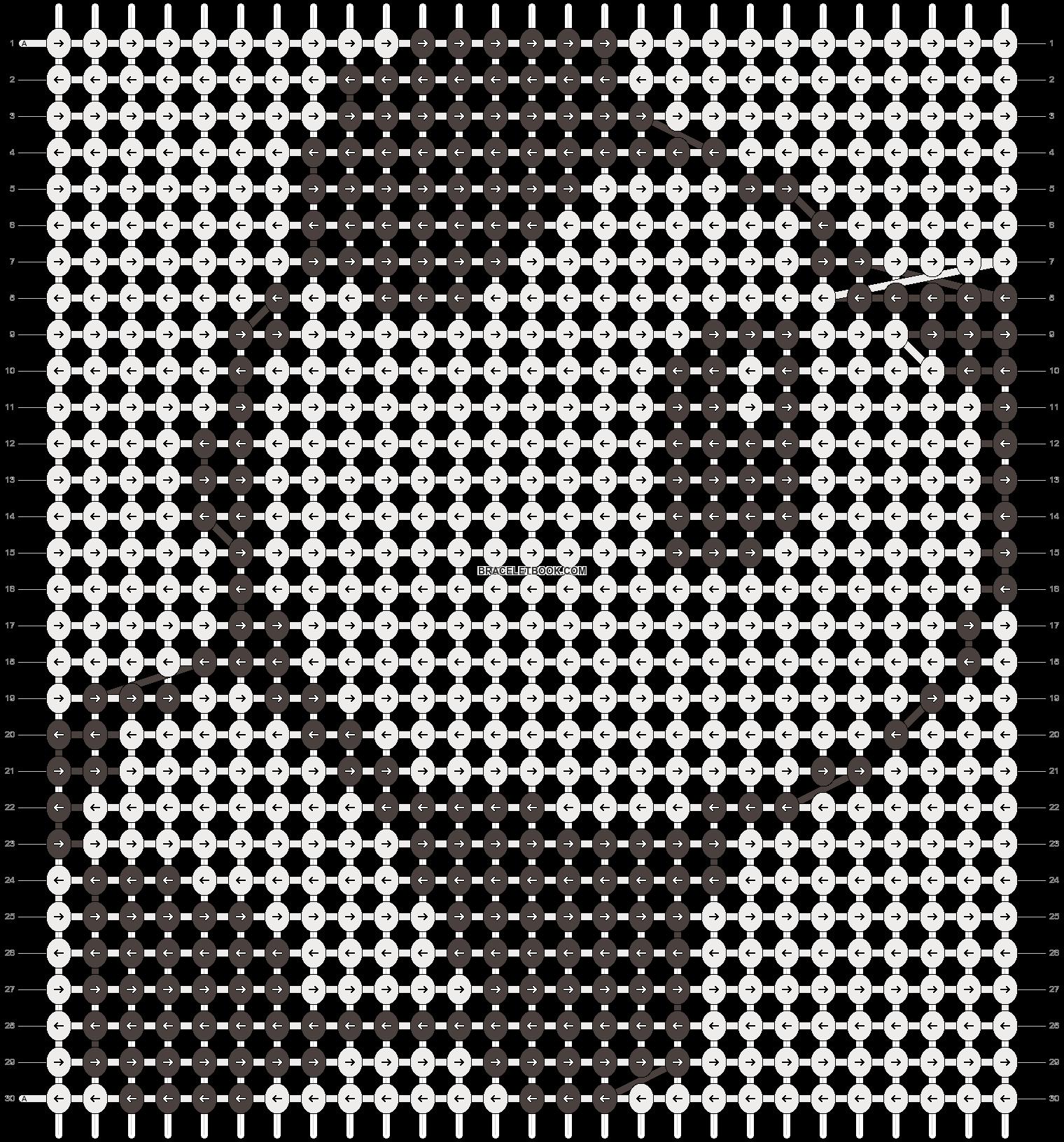 Alpha pattern #3507 pattern