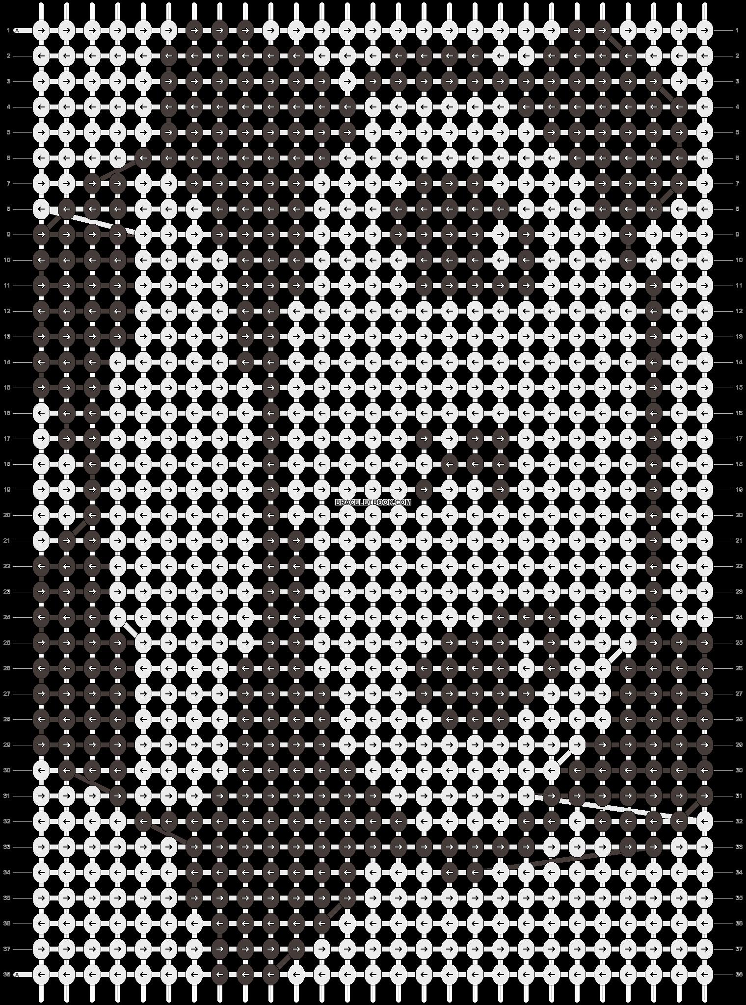 Alpha pattern #3509 pattern