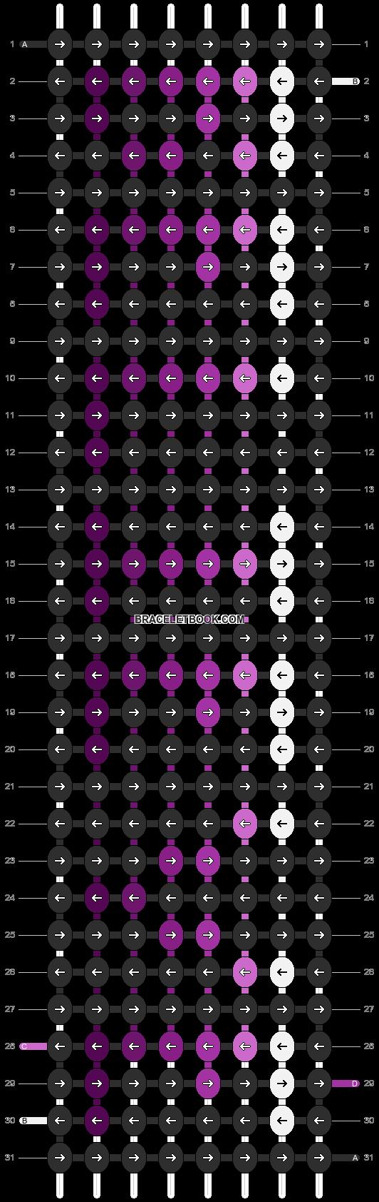 Alpha pattern #3514 pattern