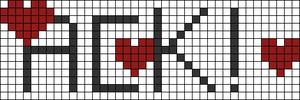 Alpha pattern #3524