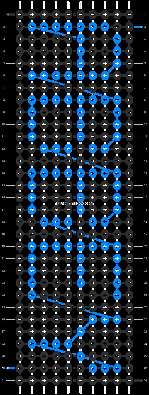 Alpha pattern #3527 pattern