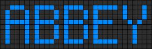 Alpha pattern #3527