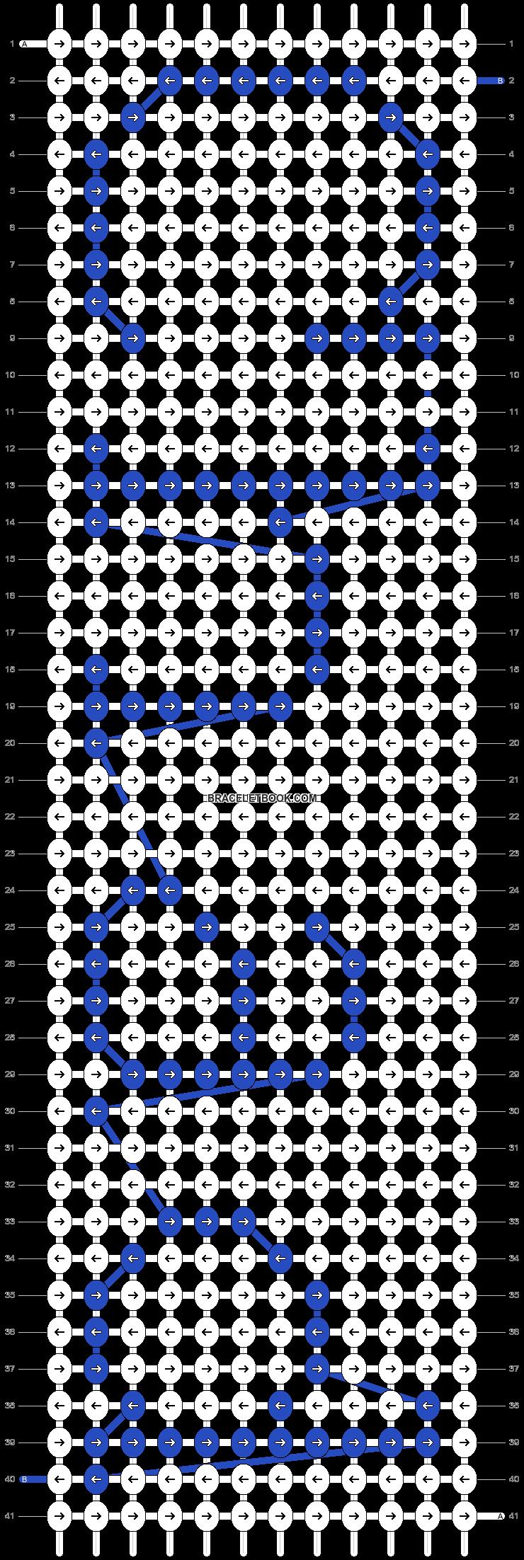 Alpha pattern #3528 pattern