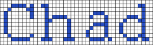 Alpha pattern #3528