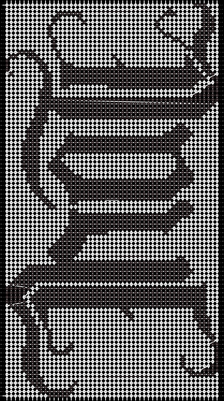 Alpha pattern #3534 pattern