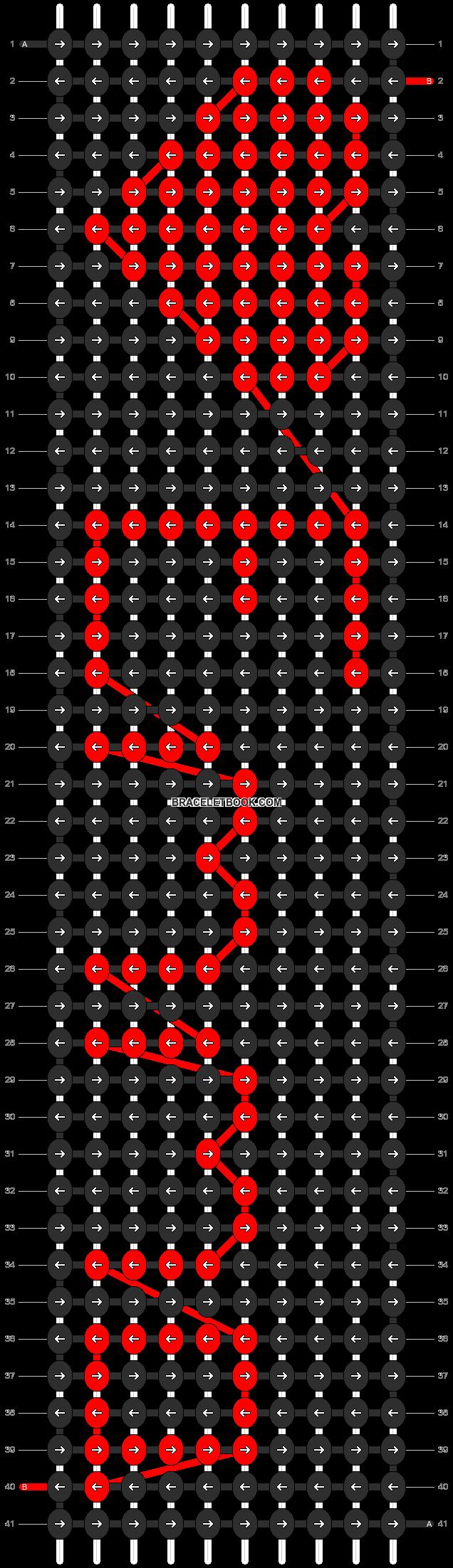 Alpha pattern #3539 pattern