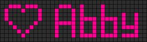 Alpha pattern #3540