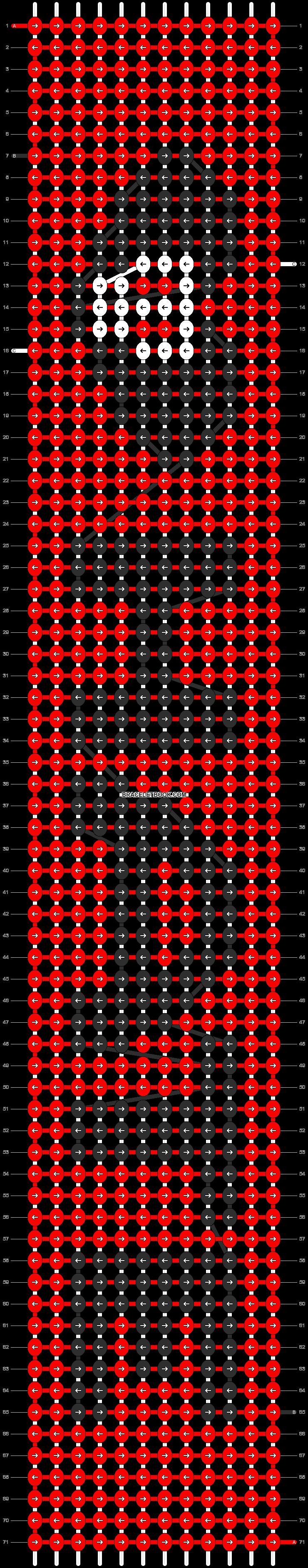 Alpha pattern #3541 pattern