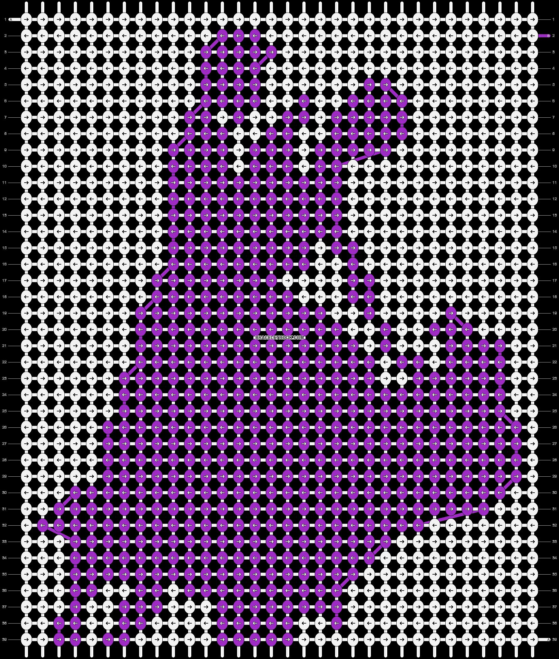 Alpha pattern #3542 pattern