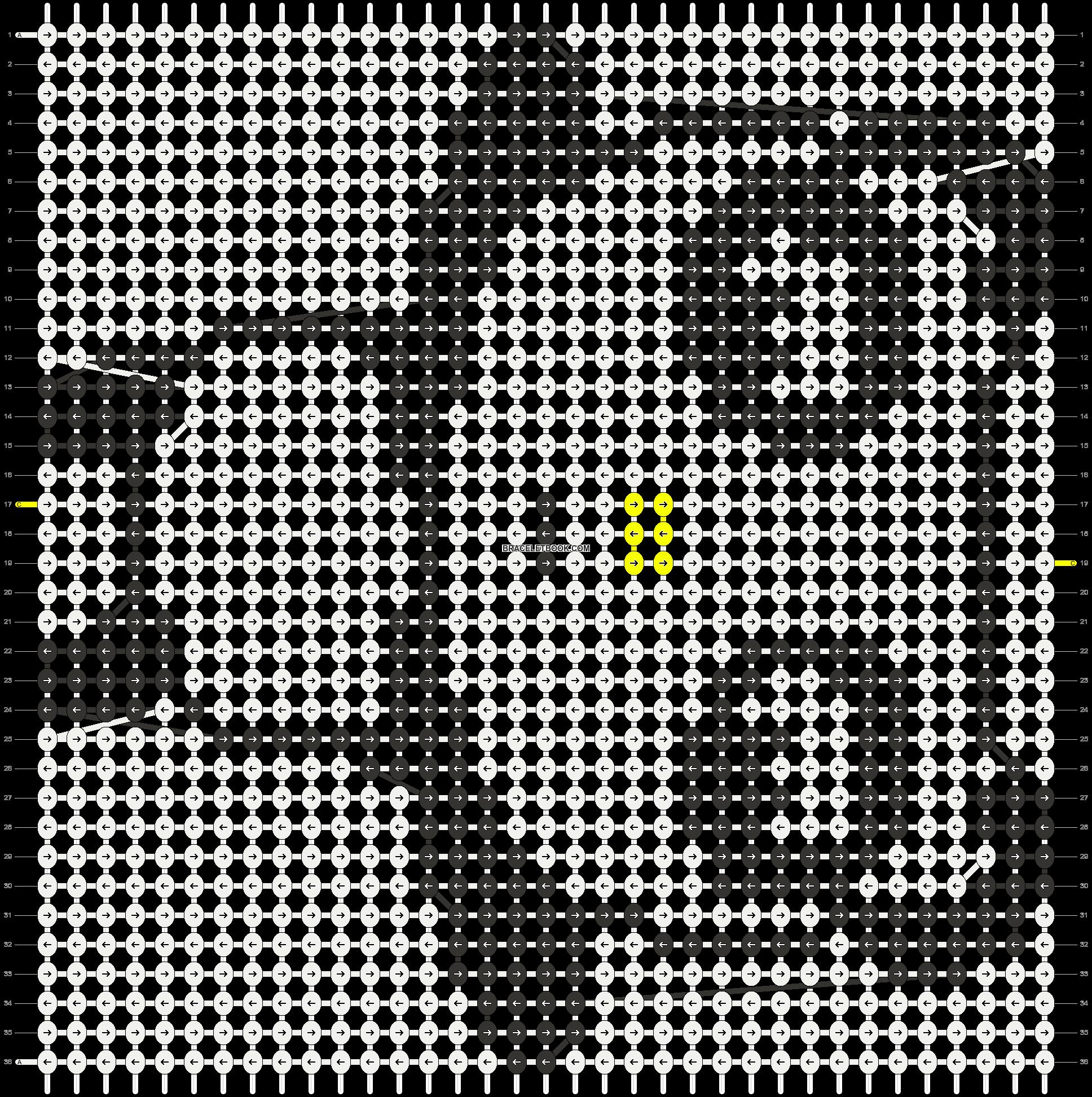 Alpha pattern #3551 pattern