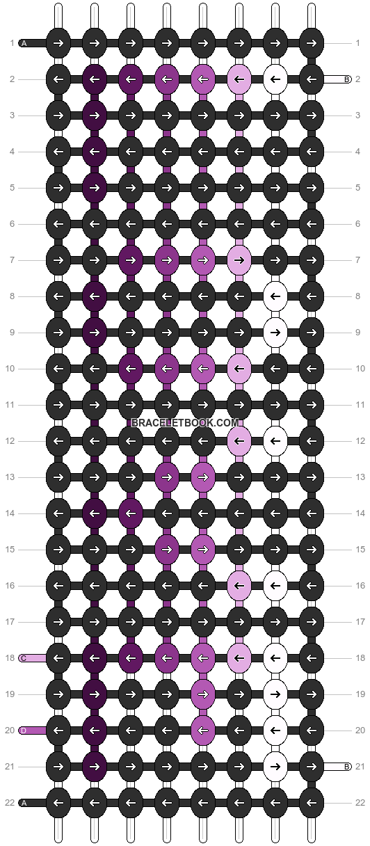 Alpha pattern #3554 pattern