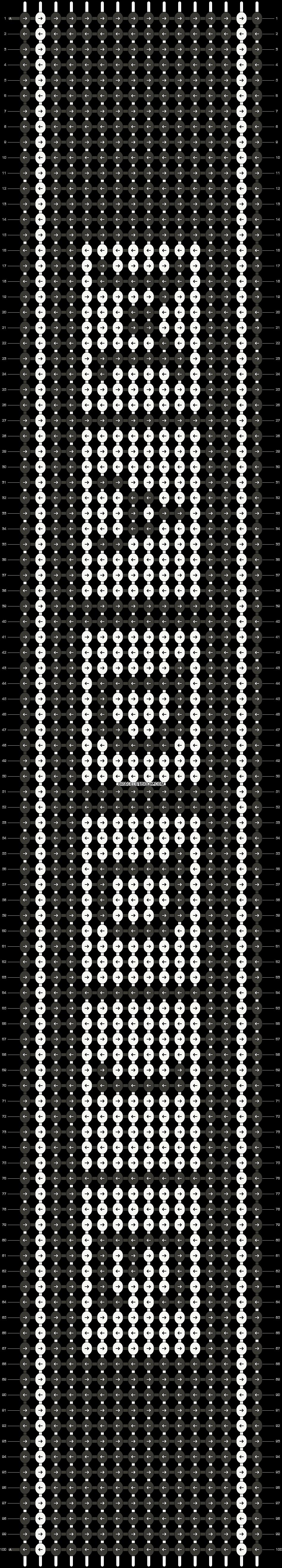 Alpha pattern #3555 pattern