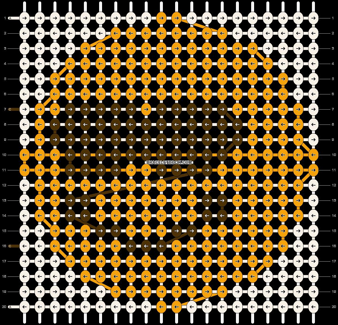 Alpha pattern #3557 pattern