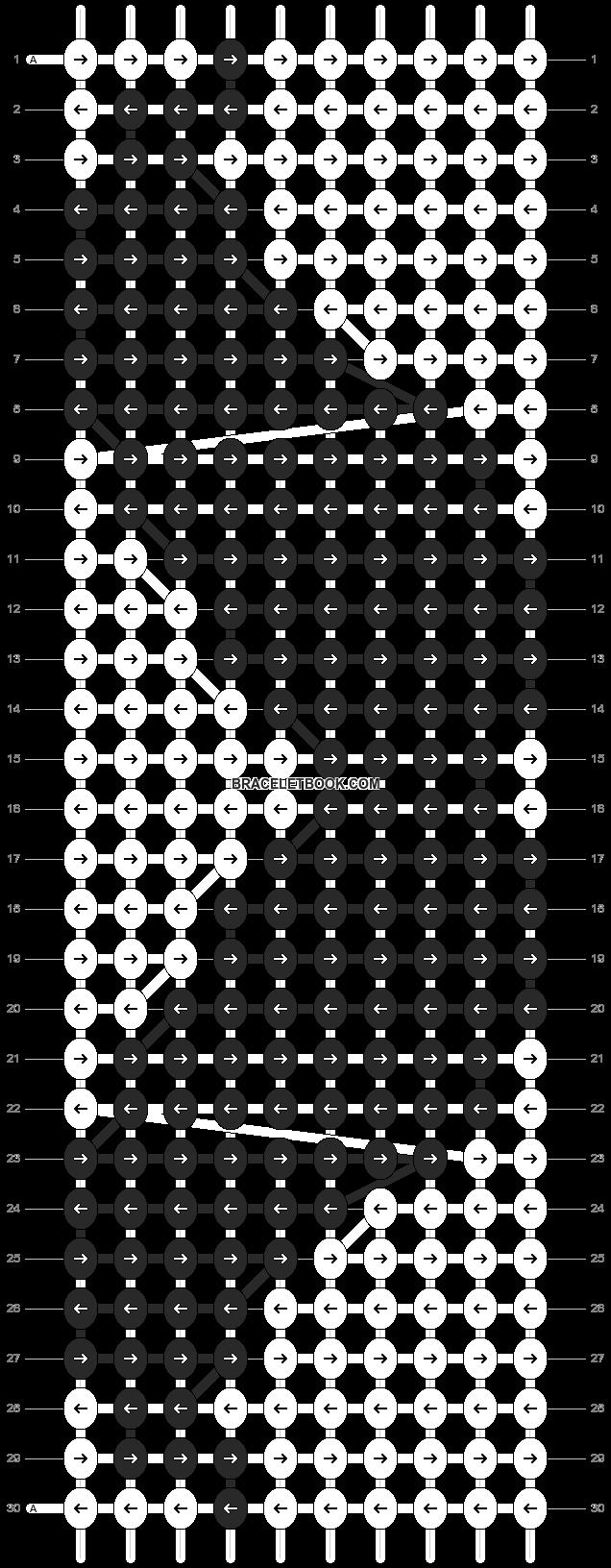 Alpha pattern #3560 pattern