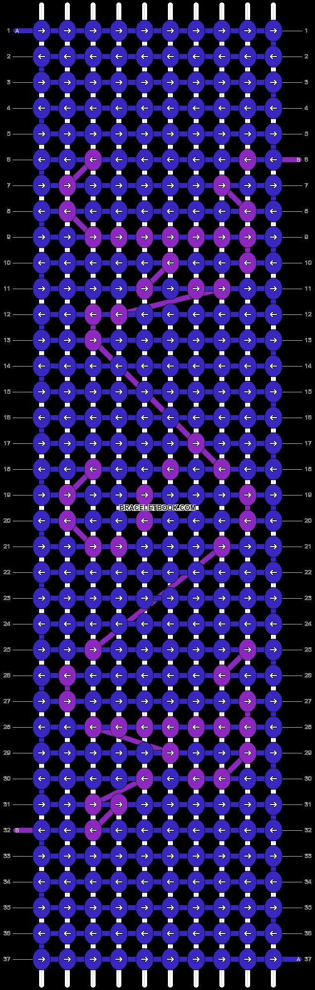 Alpha pattern #3565 pattern