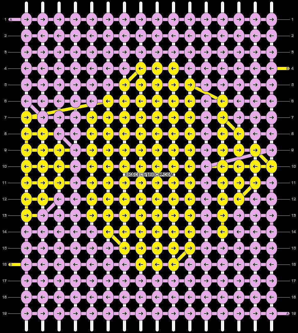 Alpha pattern #3566 pattern