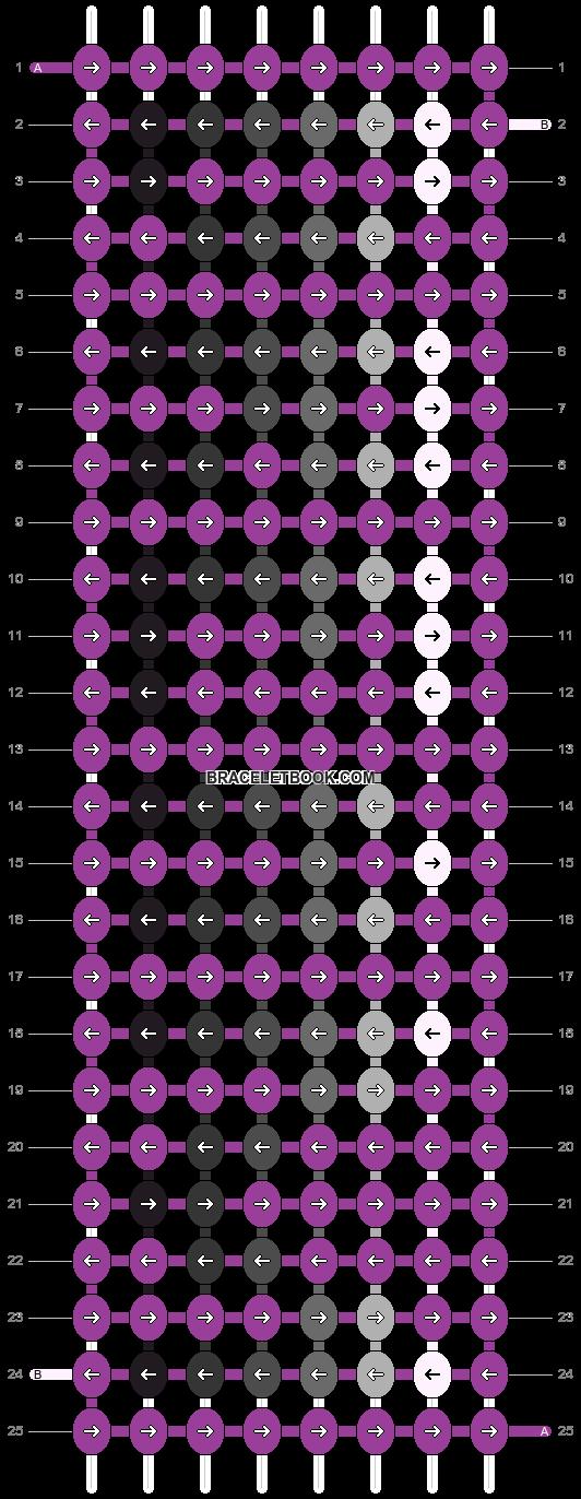 Alpha pattern #3571 pattern