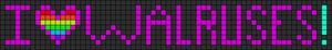 Alpha Friendship Bracelet Pattern #3584